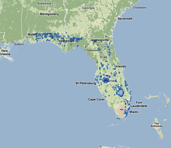 State Of Florida Map.Go To Florida Dam Safety Program Homepage Association Of State Dam