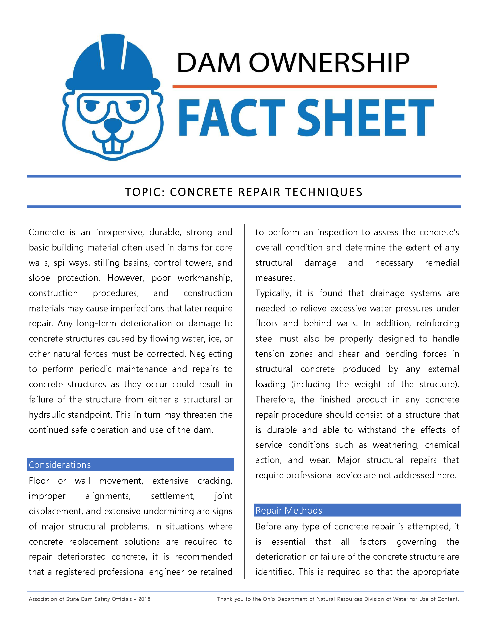 Concrete Repair Techniques Fact Sheet 2018.png