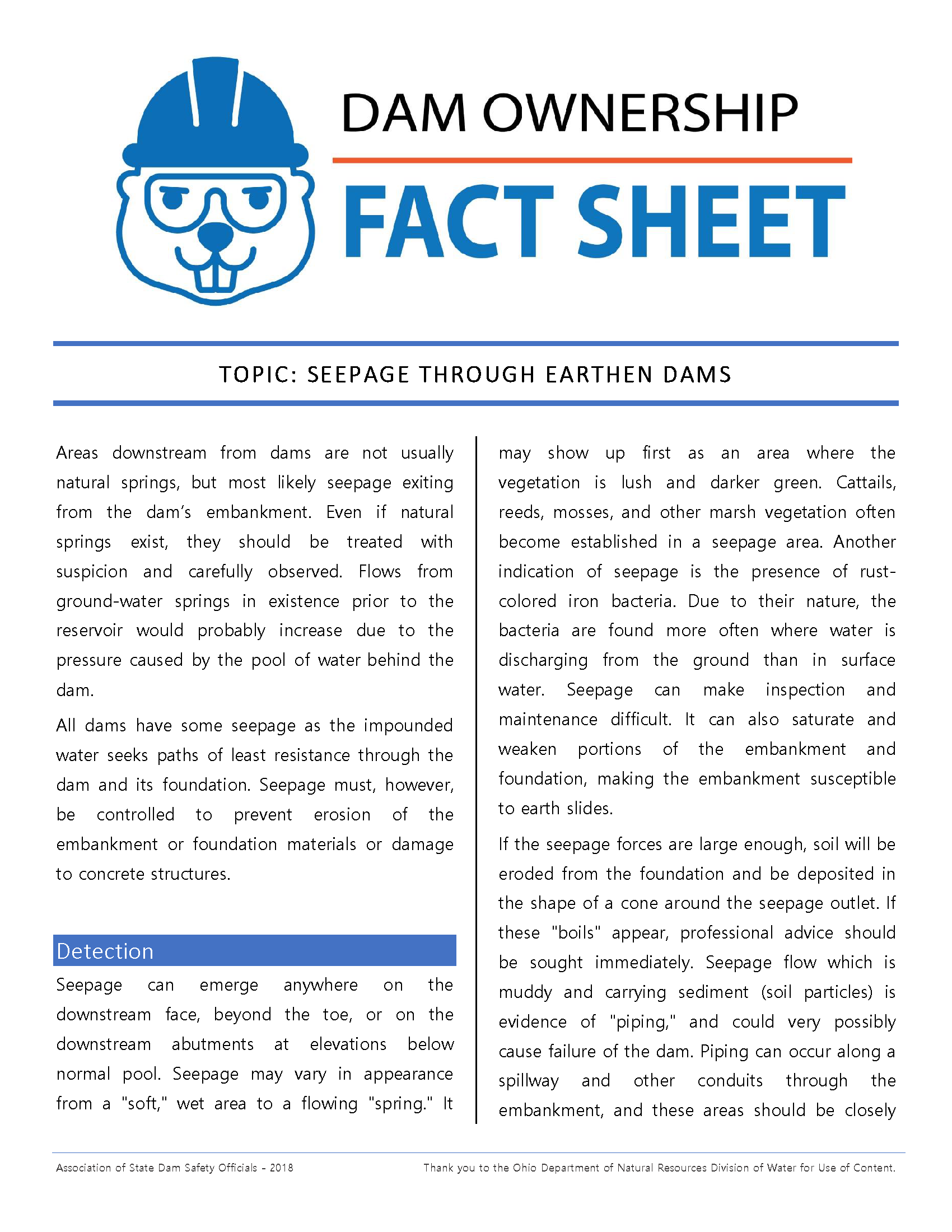 Seepage Through Earth Dams Fact Sheet 2018_Page_1.png
